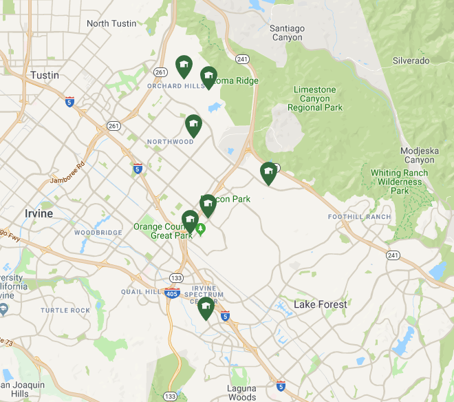 Irvine Unified School District | Villages of Irvine