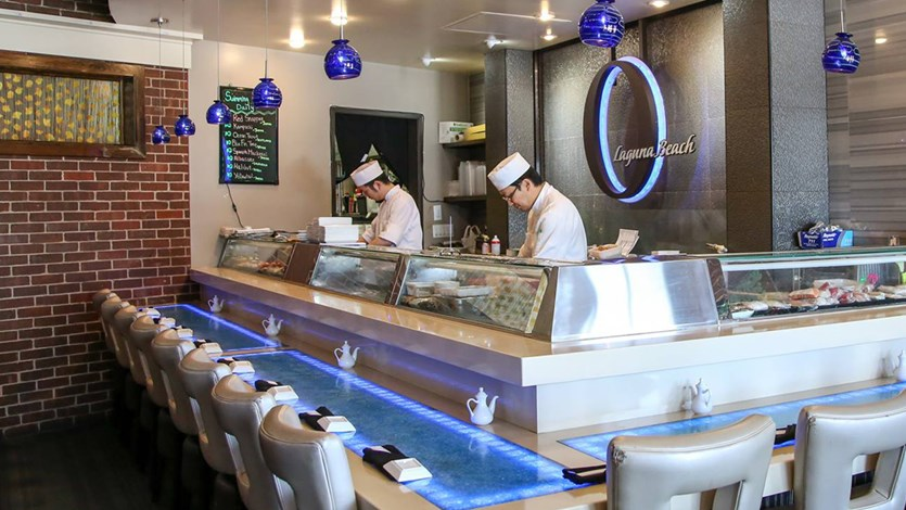 Top 5 Best Sushi in Irvine