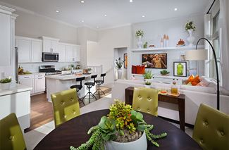 1401 16 PL3 Kitchen Acacia Cypress Village RylandHomes EricFiggePhotos